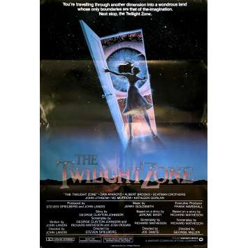 TWILLIGHT ZONE THE MOVIE Original Movie Poster Int'l - 27x40 in. - 1983 - Joe Dante, Dan Aycroyd