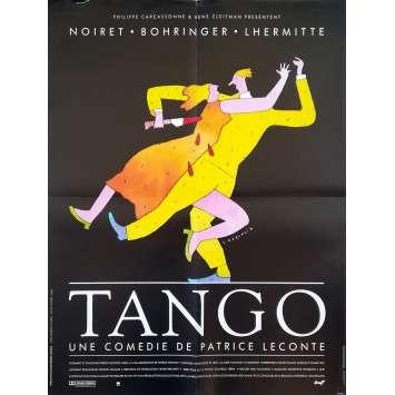 TANDEM Affiche de film - 60x80 cm. - 1987 - Jean Rochefort, Patrice Leconte