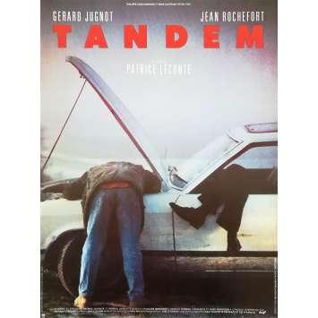 TANDEM Affiche de film - 40x60 cm. - 1987 - Jean Rochefort, Patrice Leconte