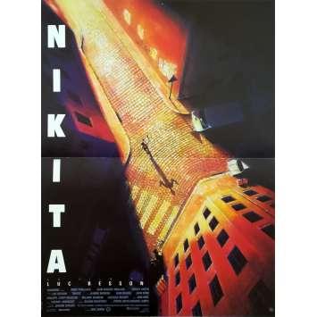 NIKITA Affiche de film - 40x60 cm. - 1990 - Anne Parillaud, Luc Besson