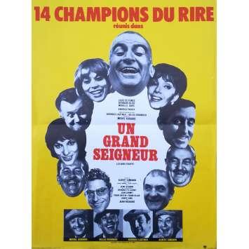 UN GRAND SEIGNEUR Affiche de film - 40x60 cm. - 1965 - Louis de Funès, Georges Lautner