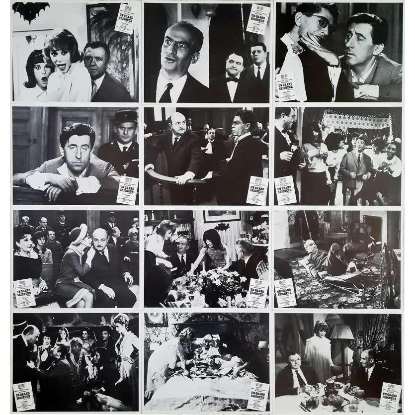 UN GRAND SEIGNEUR Photos de film - 21x30 cm. - 1965 - Louis de Funès, Georges Lautner