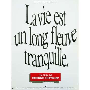 LA VIE EST UN LONG FLEUVE TRANQUILLE Affiche de film - 40x60 cm. - 1988 - Benoit Magimel, Etienne Chatillez