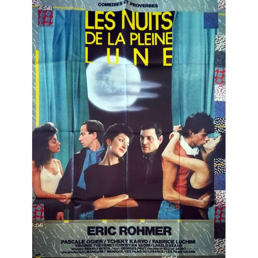 Full Moon In Paris Movie Poster 47x63 In