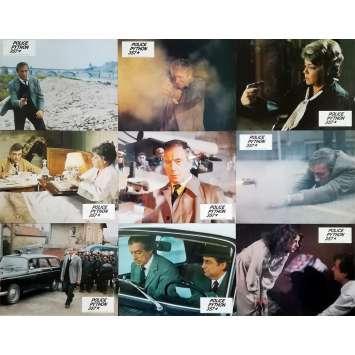 POLICE PYTHON 357 Photos de film x12 - 21x30 cm. - 1976 - Yves Montand, Alain Corneau