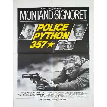 POLICE PYTHON 357 Affiche de film - 60x80 cm. - 1976 - Yves Montand, Alain Corneau