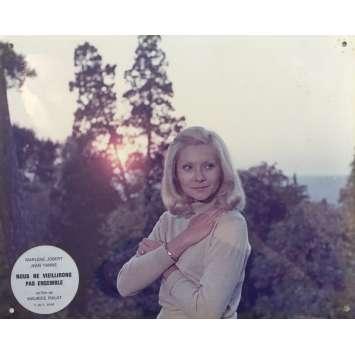NOUS NE VIEILLIRONS PAS ENSEMBLE Photo de film N03 - 24x30 cm. - 1972 - Jean Yanne, Maurice Pialat