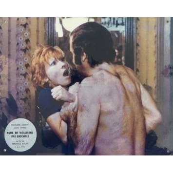 NOUS NE VIEILLIRONS PAS ENSEMBLE Photo de film N02 - 24x30 cm. - 1972 - Jean Yanne, Maurice Pialat