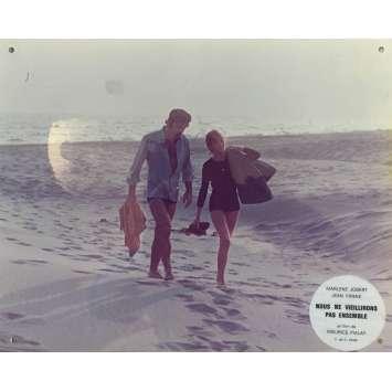 NOUS NE VIEILLIRONS PAS ENSEMBLE Photo de film N01 - 24x30 cm. - 1972 - Jean Yanne, Maurice Pialat