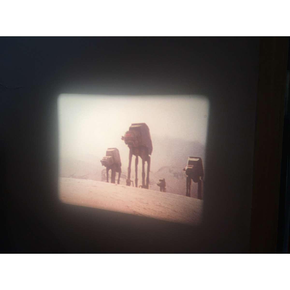 STAR WARS - EMPIRE STRIKES BACK 16mm Movie 2x2 in