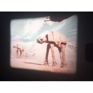 STAR WARS - EMPIRE STRIKES BACK Original 16mm Movie A - 2x2 in. - 1980 - George Lucas, Harrison Ford