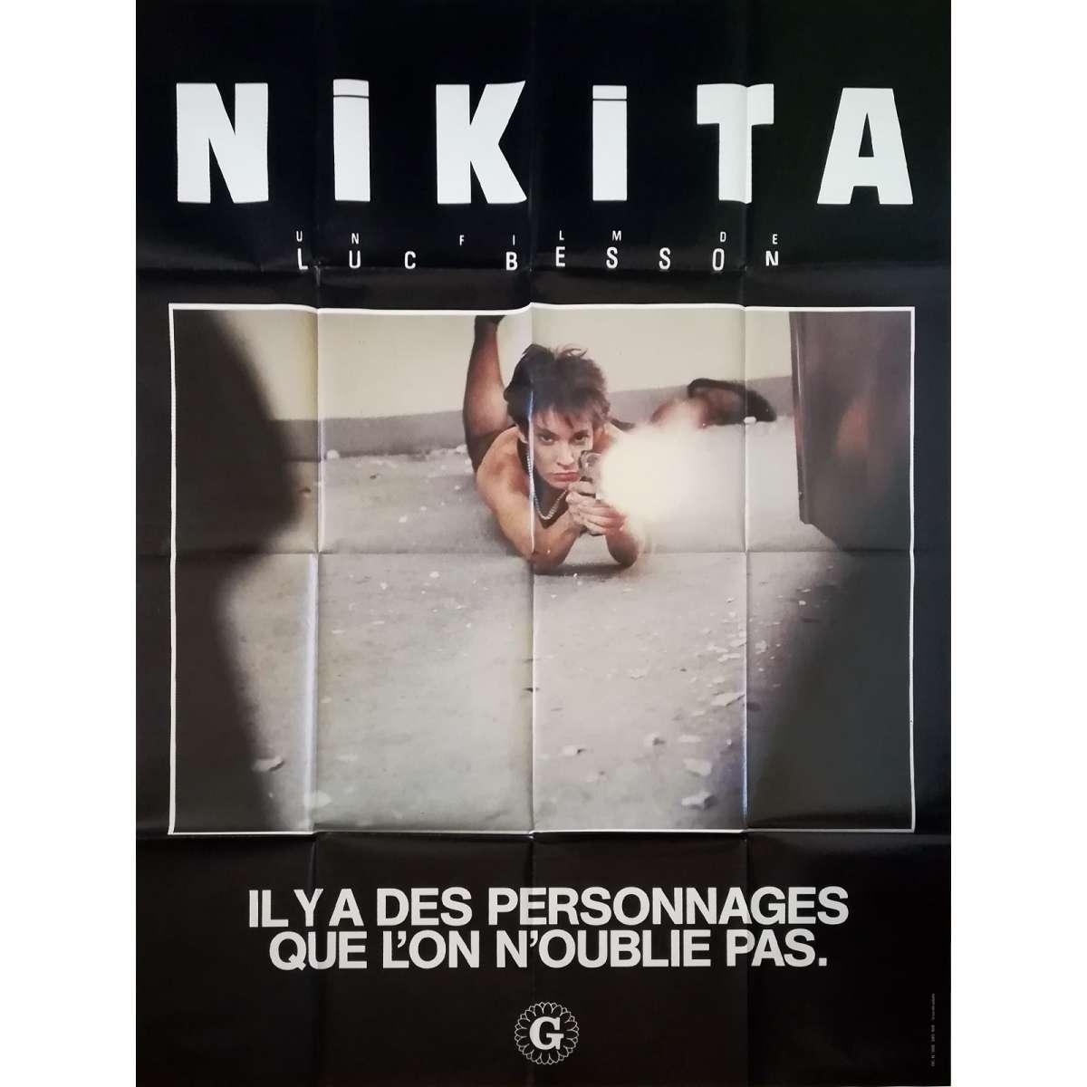 LA FEMME NIKITA Movie Poster 47x63 in.