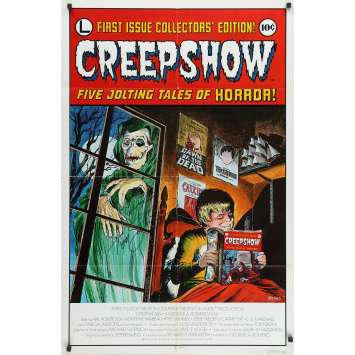 CREEPSHOW Original Signed Poster - 27x41 in. - 1982 - George A. Romero, Leslie Nielsen