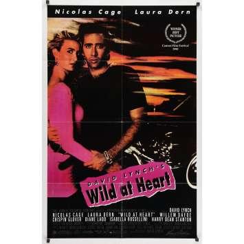 SAILOR ET LULA Affiche de film - 69x104 cm. - 1990 - Nicolas Cage, David Lynch
