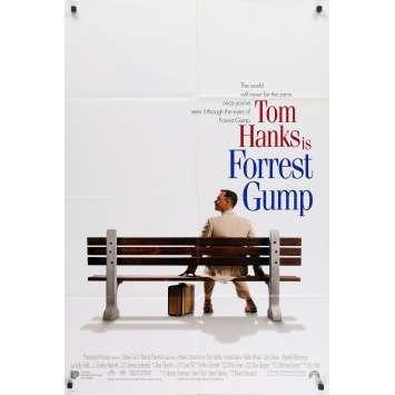 FORREST GUMP Affiche de film - 69x104 cm. - 1994 - Tom Hanks, Robert Zemeckis