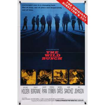 LA HORDE SAUVAGE Affiche de film - 69x104 cm. - R1990 - Robert Ryan, Sam Peckinpah