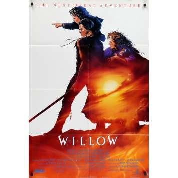 WILLOW Affiche de film - 69x104 cm. - 1988 - Val Kilmer, Ron Howard