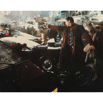 BLADE RUNNER Original Lobby Card N04 - DeLuxe - 8x10 in. - 1982 - Ridley Scott, Harrison Ford