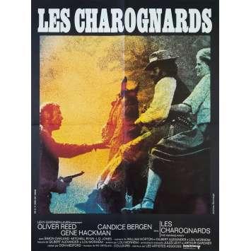 LES CHAROGNARDS Affiche de film 60x80 cm - 1971 - Oliver Reed, Don Medford