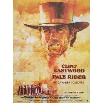 PALE RIDER Affiche de film 40x60 - 1984 - Chris Penn, Clint Eastwood