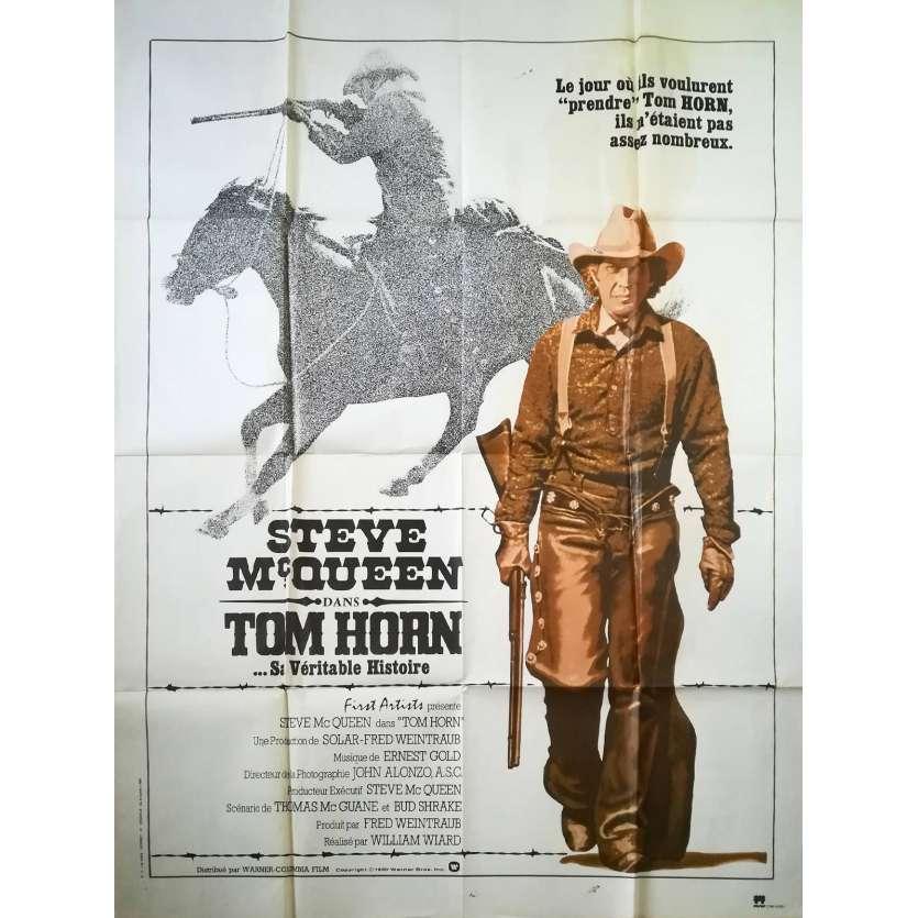 TOM HORN Affiche de film 120x160 - 1980 - Steve McQueen, William Wiard C6