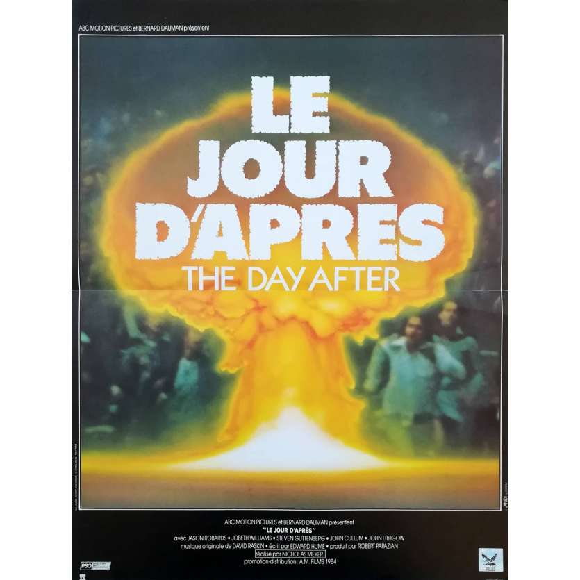 THE DAY AFTER French Movie Poster 15x21 - 1983 - Nicholas Meyer, Jason Robards