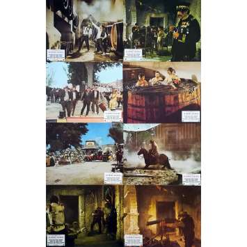 THE WILD BUNCH Original Lobby Cards x14 - 9x12 in. - 1969 - Sam Peckinpah, Robert Ryan