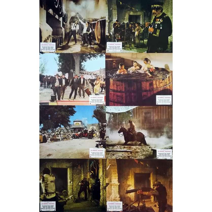 THE WILD BUNCH Original Lobby Cards x14 - 9x12 in. - 1969 - Sam Peckinpah, Robert Ryan