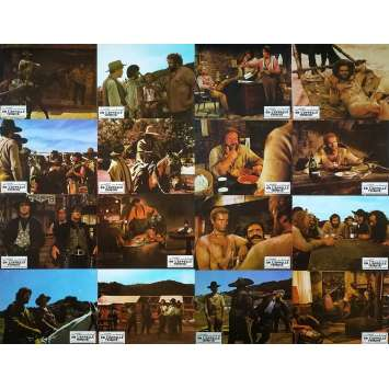 THEY CALL ME TRINITY Original Lobby Cards x16 - 9x12 in. - 1970 - Enzo Barboni, Terence Hill, Bud Spencer
