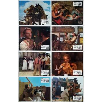 TRINITY IS STILL MY NAME Original Lobby Cards x14 - 9x12 in. - 1971 - Enzo Barboni, Terence Hill, Bud Spencer