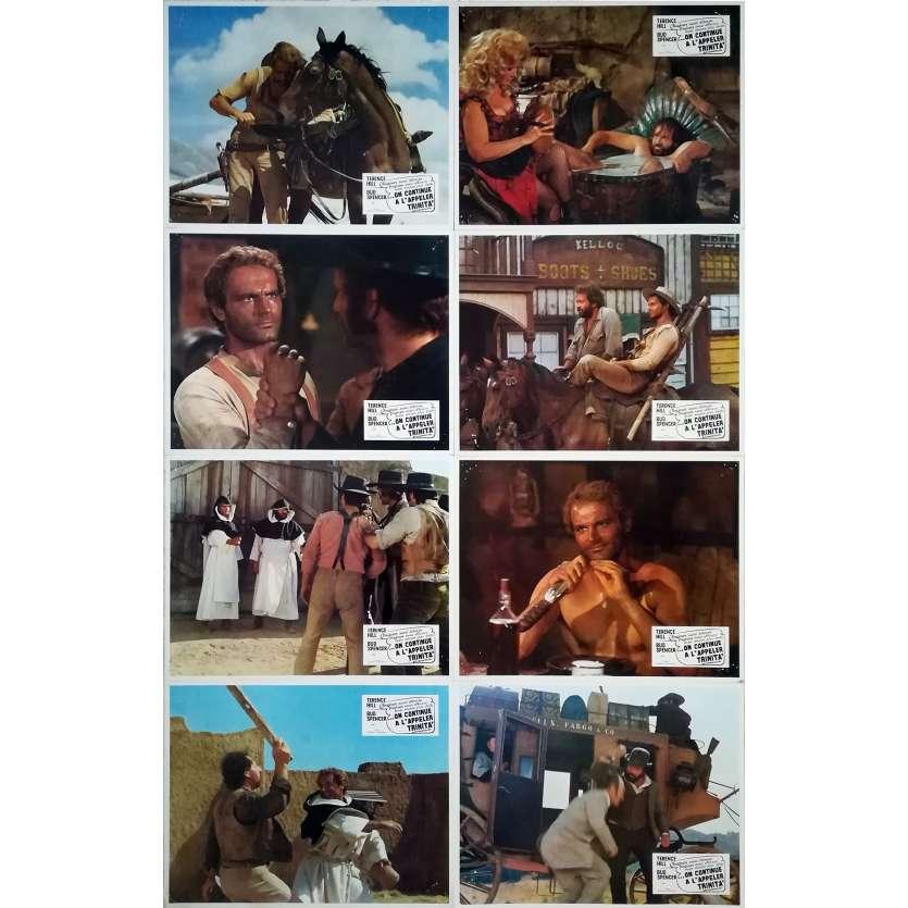 ON CONTINUE A L'APPELER TRINITA Photos de film x14 - 21x30 cm. - 1971 - Terence Hill, Bud Spencer, Enzo Barboni