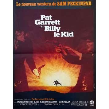 PAT GARRETT ET BILLY LE KID Affiche de film - 40x60 cm. - 1973 - Bob Dylan, Sam Peckinpah