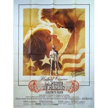 LA PORTE DU PARADIS Affiche de film - 120x160 cm. - 1980 - Christopher Walken, Michael Cimino