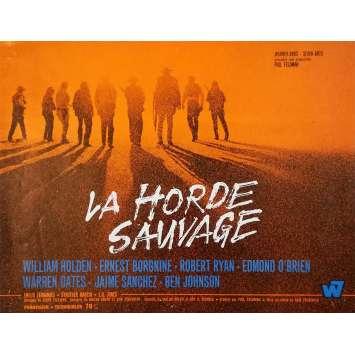 LA HORDE SAUVAGE Synopsis - 24x30 cm. - 1969 - Robert Ryan, Sam Peckinpah