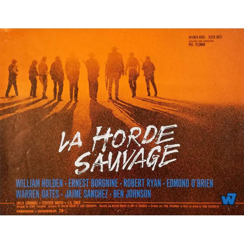 LA HORDE SAUVAGE Synopsis - 24x30 cm. - 1969 - Robert Ryan, Sam Peckinpah