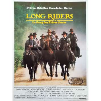 THE LONG RIDERS Original Movie Poster - 15x21 in. - 1980 - Walter Hill, David Carradine