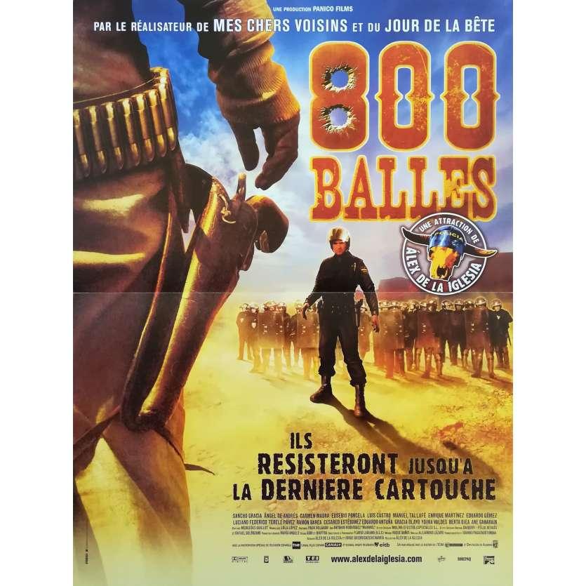 800 BULLETS Original Movie Poster - 15x21 in. - 2002 - Alex de la Iglesia, Sancho Gracia