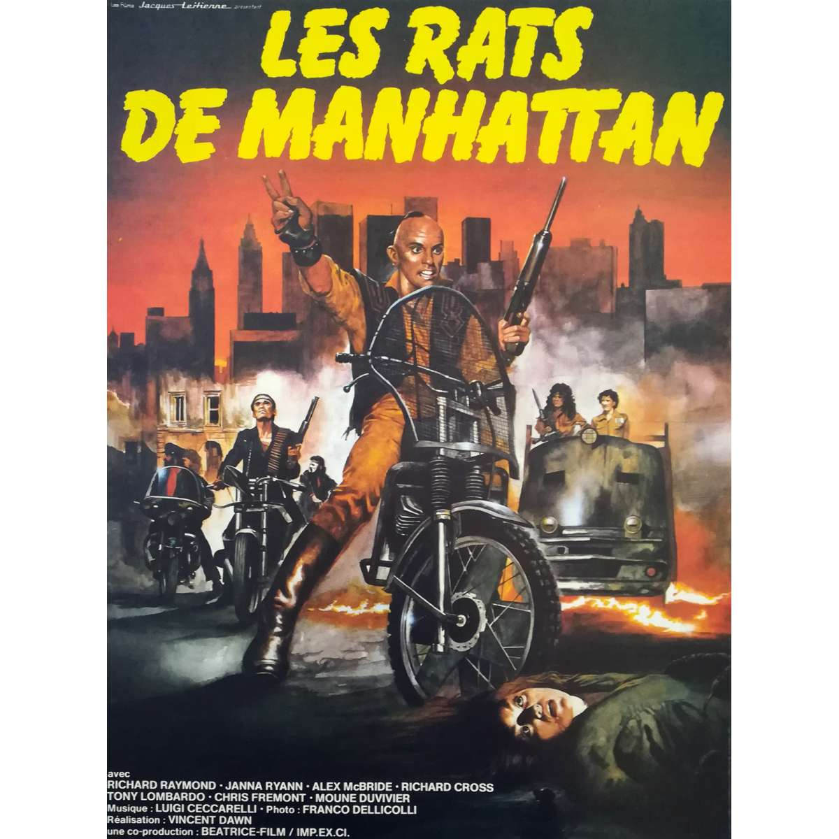Rats Movie Poster 15x21 In