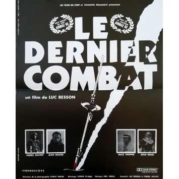 THE LAST BATTLE Original Movie Poster - 15x21 in. - 1983 - Luc Besson, Jean Reno
