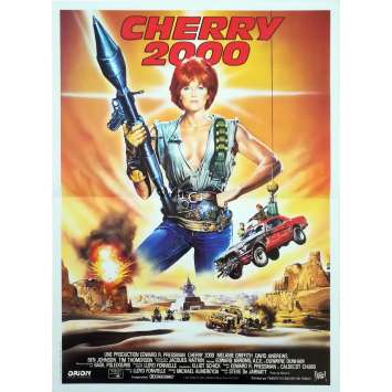 CHERRY 2000 Original Movie Poster - 15x21 in. - 1987 - Steve De Jarnatt, Melanie Griffith