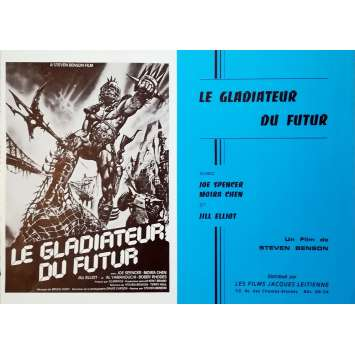 LE GLADIATEURS DU FUTUR Synopsis - 21x30 cm. - 1983 - Laura Gemser, Joe D'amato