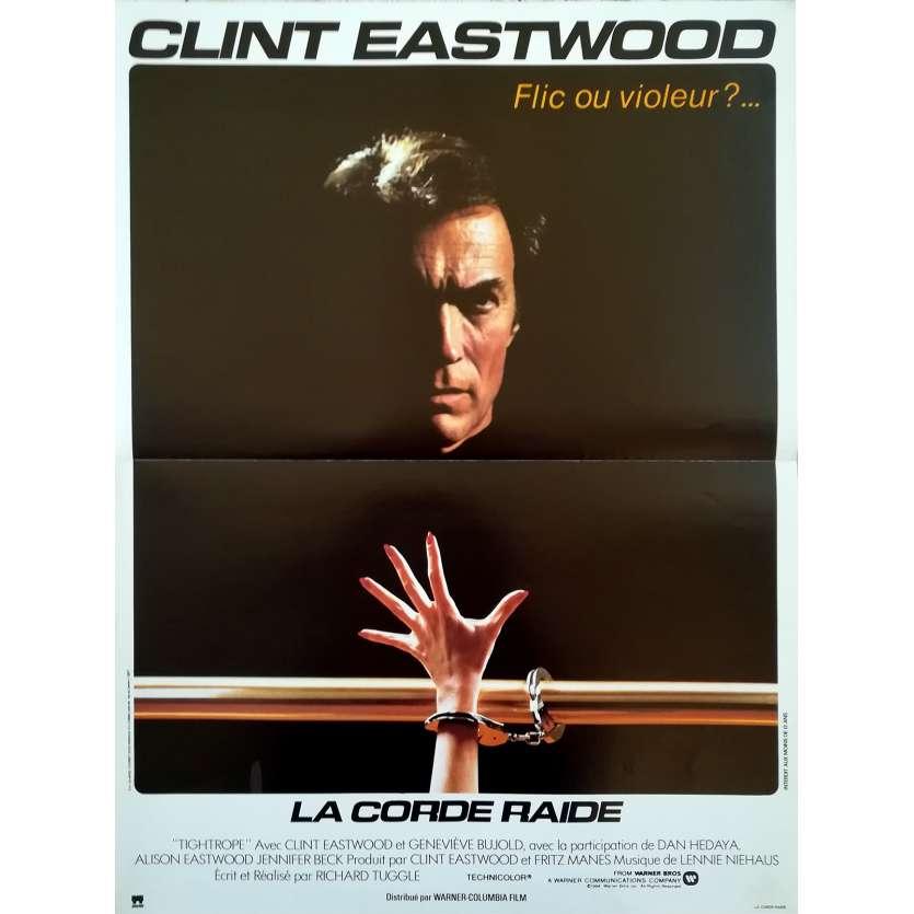 LA CORDE RAIDE Affiche de film 40x60 - 1984 - Clint Eastwood, Clint Eastwood