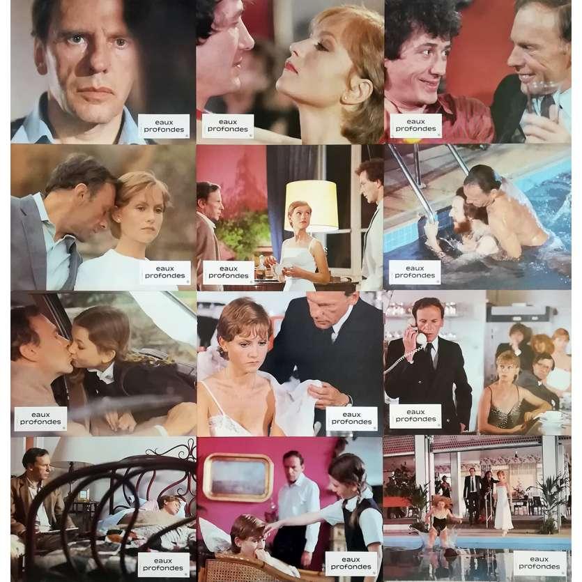 EAUX PROFONDES Photos de films 21x30 - 1981 - Isabelle Huppert, Michel Deville