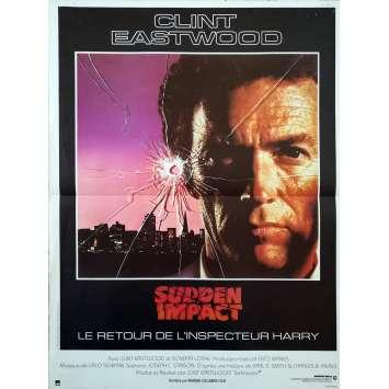 SUDDEN IMPACT Affiche de film 40x60 - 1984 - Clint Eastwood, Clint Eastwood