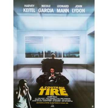 A COUTEAU TIRE Affiche de film - 40x60 cm. - 1983 - John Lydon, Roberto Faenza