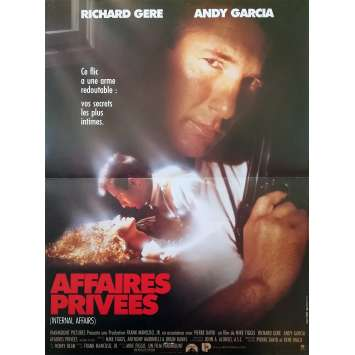 AFFAIRES PRIVEES Affiche de film - 40x60 cm. - 1990 - Richard Gere, Mike Figgis