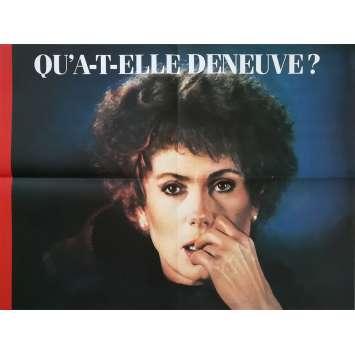 AGENT TROUBLE Affiche de film x3 - 60x80 cm. - 1987 - Catherine Deneuve, Jean-Pierre Mocky
