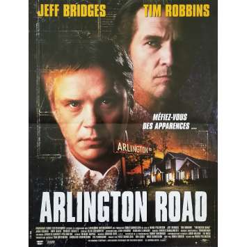ARLINGTON ROAD Affiche de film - 40x60 cm. - 1999 - Jeff Bridges, Mark Pellington
