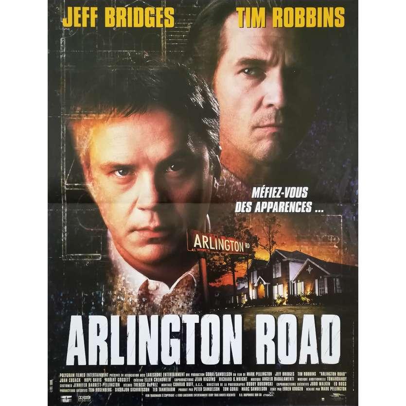 ARLINGTON ROAD Affiche de film - 40x60 cm. - 1999 - Jeff Bridges, Mark Pellington