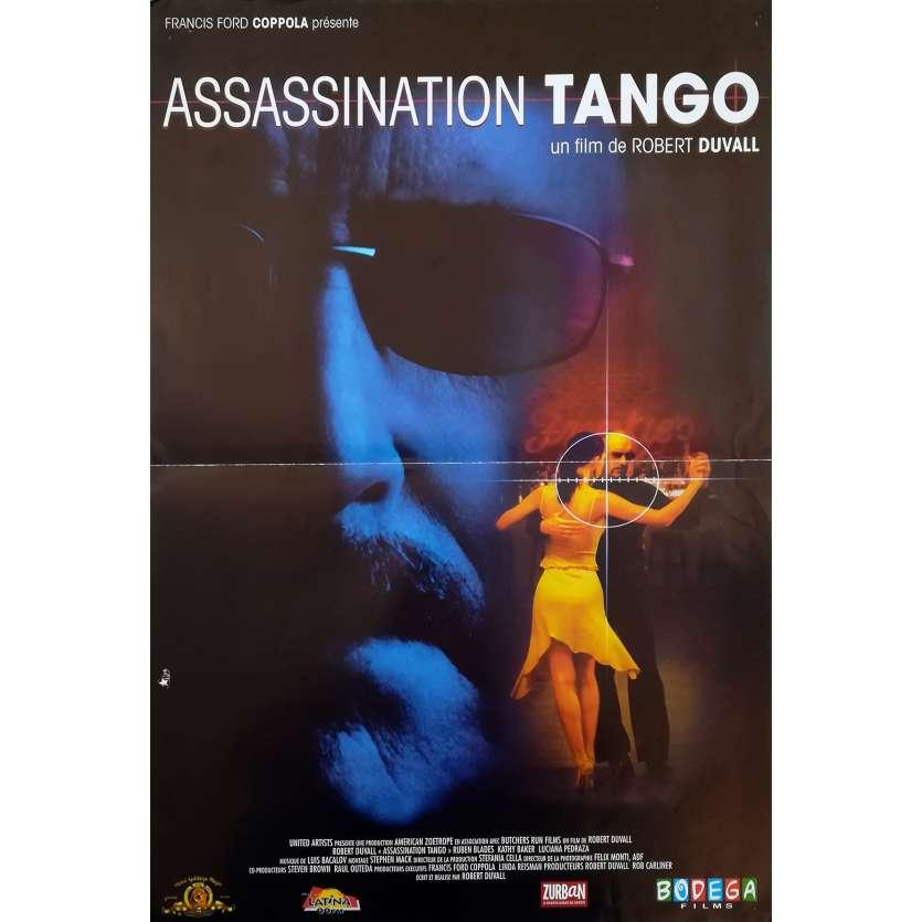 ASSASSINATION TANGO Original Movie Poster - 15x21 in. - 2002 - Robert Duvall, Ruben Blades
